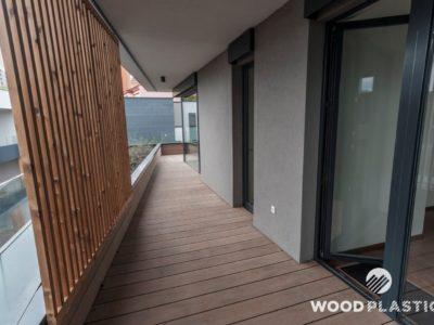 WoodPlastic® terasy forest plus teak-Bytový dům Michelská