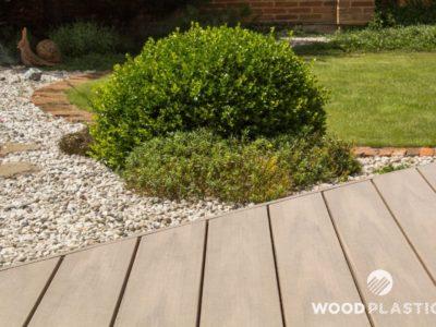 WoodPlastic® terasy style plus teak