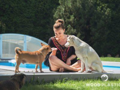 WoodPlastic® terasy top rustic inox-Alice Bendová