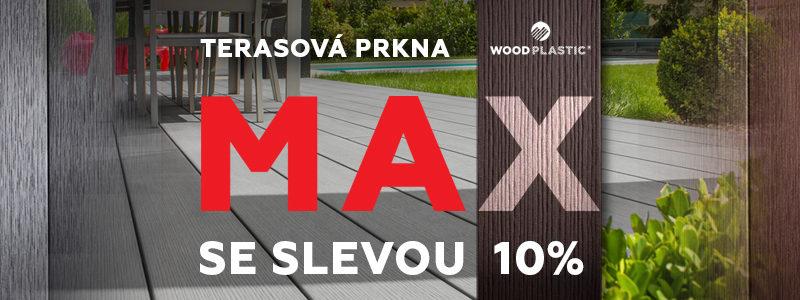Sleva MAX Woodplastic